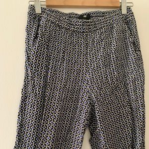Blue/Black H&M Pants